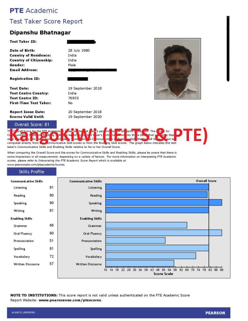Score 79+ in PTE | 8+ bands in IELTS - IELTS & PTE coaching Delhi India